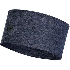 Buff 2 Layers Midweight Merino Wool Headband night blue melange